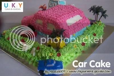 car cake bandung