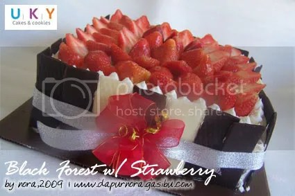 black forest stawberry