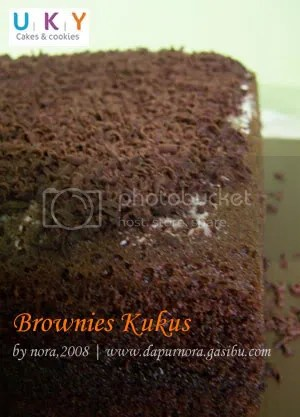 brownies kukus bandung