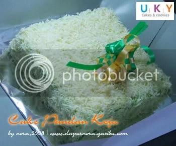 cake pandan