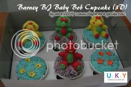 barney cupcake bandung