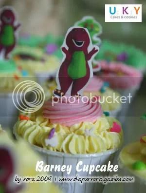 kue ulang tahun barney, bandung