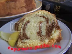 Marmer orange cake