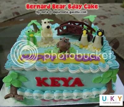 kue ulang tahun bernard bear bandung