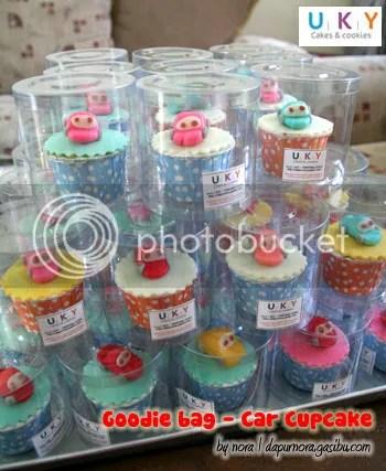 Cupcake Cars Goodie bag bandung