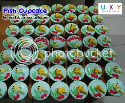 Cupcake Fish bandung
