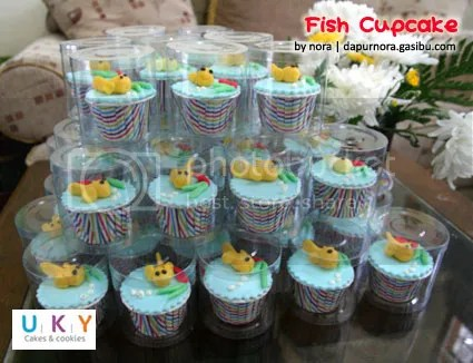 cupcake ikan bandung