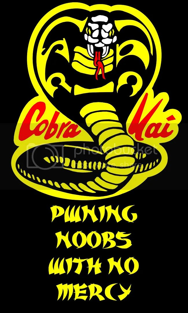 Cobra Kai - No Mercy (source mrftw photobucket)