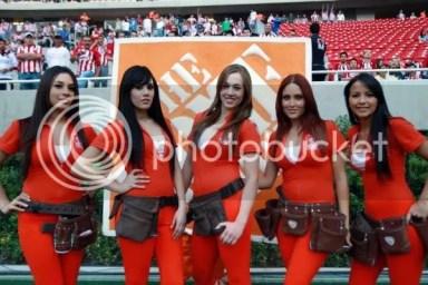 Mexican Soccer Cheerleaders / Porristas 2011