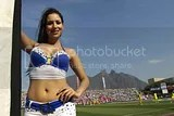Mexican Soccer Cheerleaders