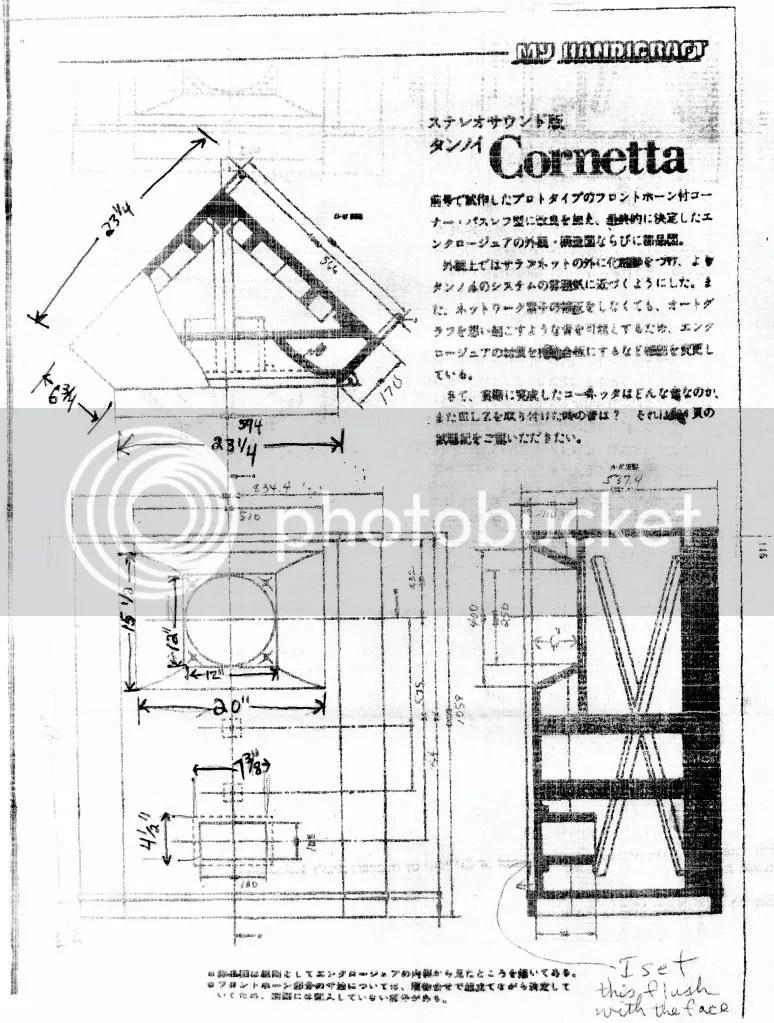 Anese Cornetta Plans For Tannoy 10 S Audiokarma Home Audio