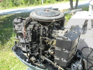1990 Evinrude 150hp V6 with VRO Page: 1  iboats Boating