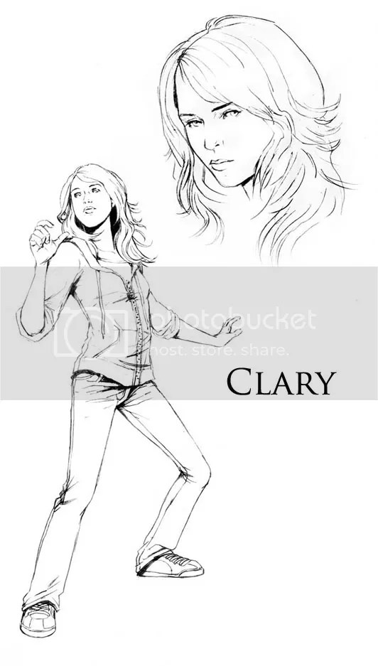 Cazadores de sombras Clary