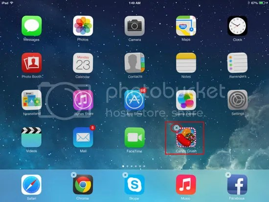How to easily uninstall or remove Candy Crush Saga on iOS 7