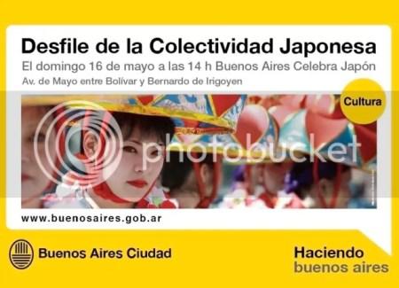 Desfile Japonés en Av. de Mayo