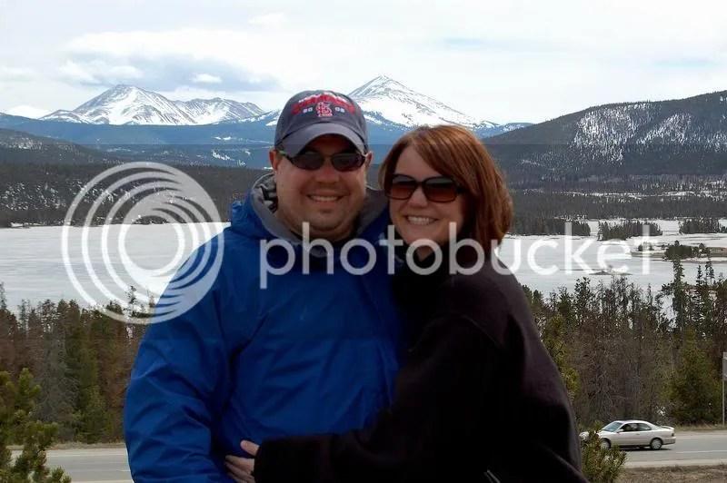 Meg and adam in breckenridge