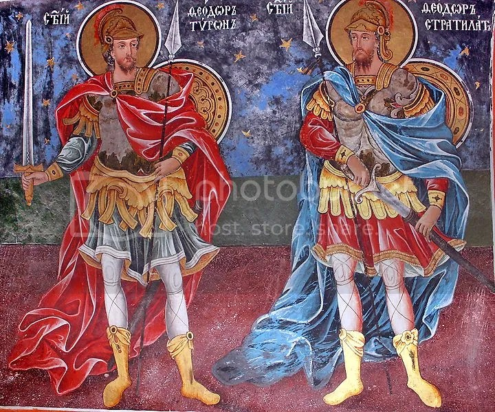 Image result for icon st.  theodore stratelates