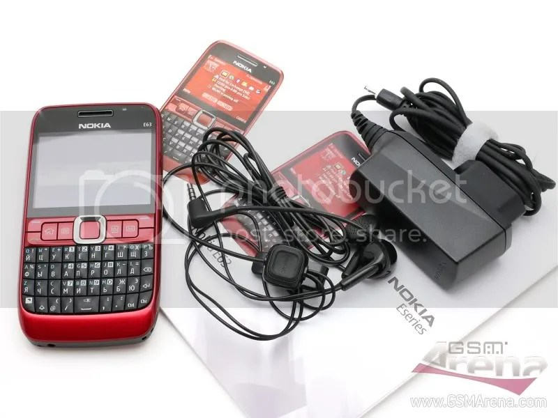 Nokia E63 by GSMArena