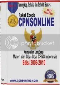 soal cpns,ebook cpns, cpns 2009