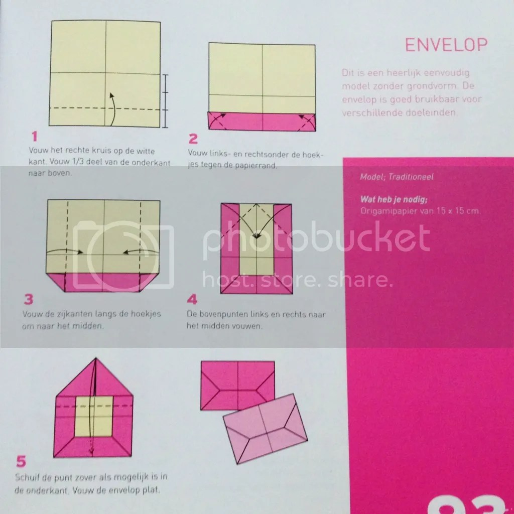 Make Paper Envelope Origami