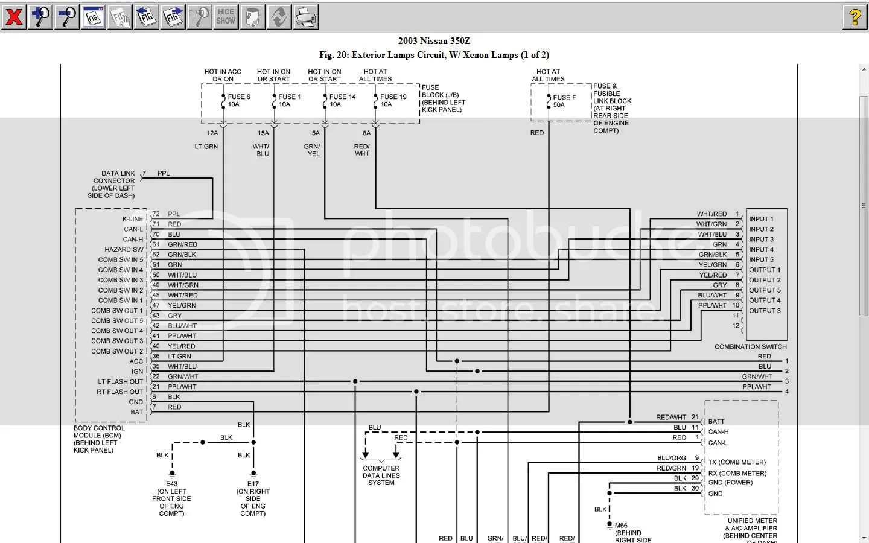2006 Nissan Fuse Box 20 Wiring Diagram Images 350z Daewoo Lanos Cadillac Allante