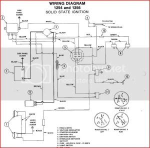 Bolens 1256 wiring question  MyTractorForum  The
