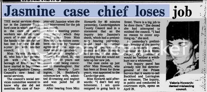 howarth loses job