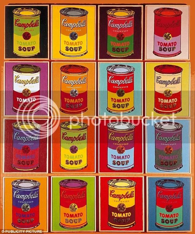 Τα διάσημα κουτιά της σούπας Campbell