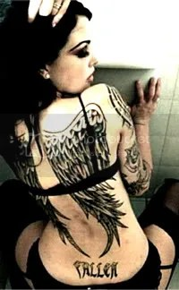Girl Tattoed Pictures, Images and Photos