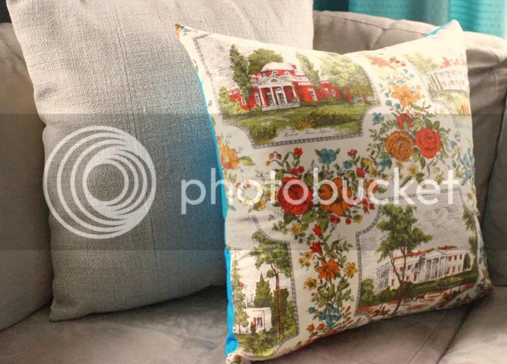 Sew an accent pillow