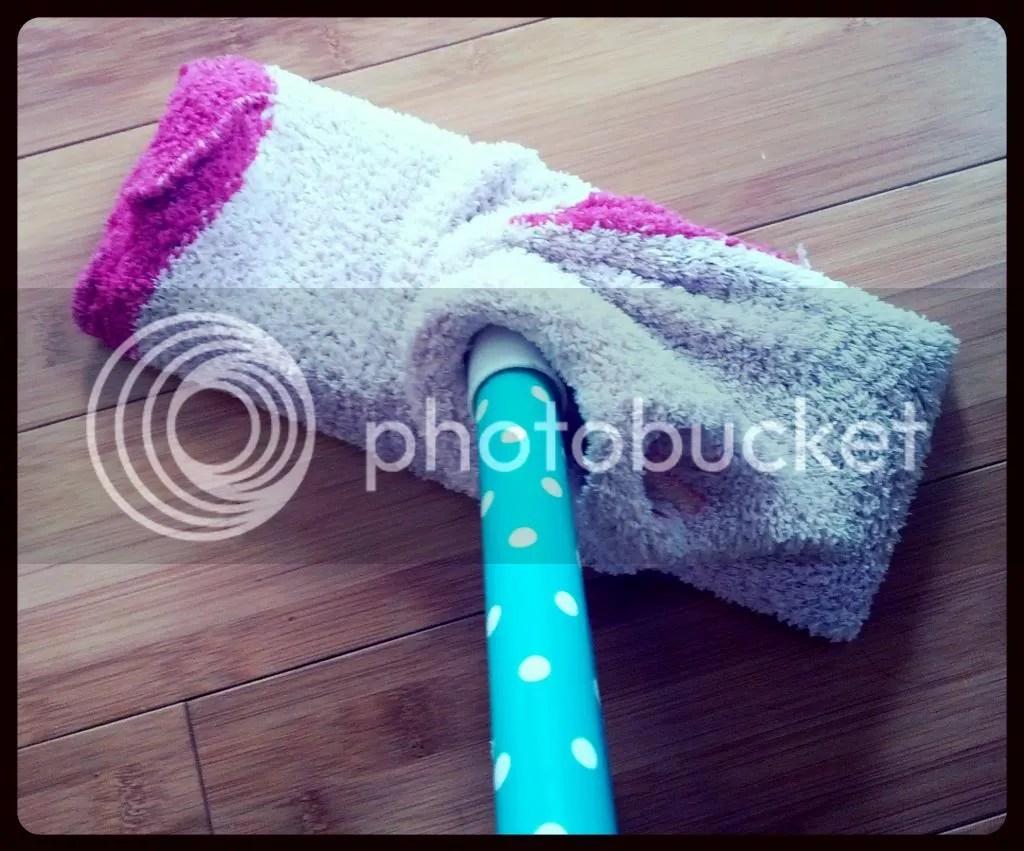 Swiffer Cheat #2: Sock it Up