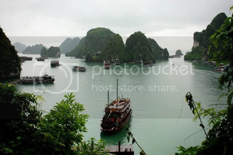 Cove in Halong Bay
