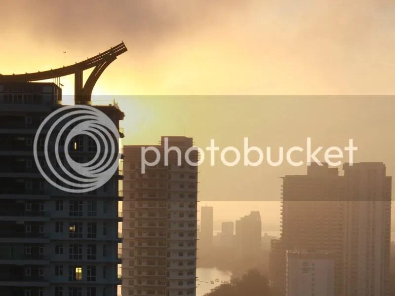 Sunrise over Penang