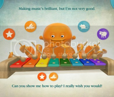 Timmy Tickle educational iPad app for kids
