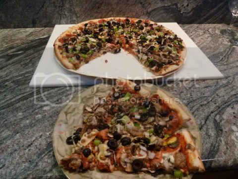 Take And Bake Pizza On Mak Pellet Grill Smokin Petes Bbq