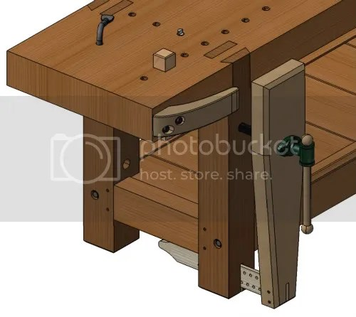 Woodworking workbench vice design PDF Free Download