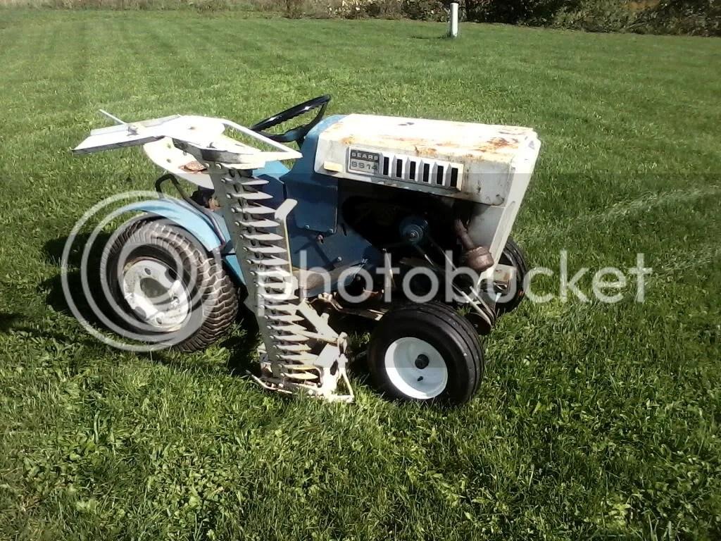Sickle Bar Sears Craftsman Tractor Forum GTtalk