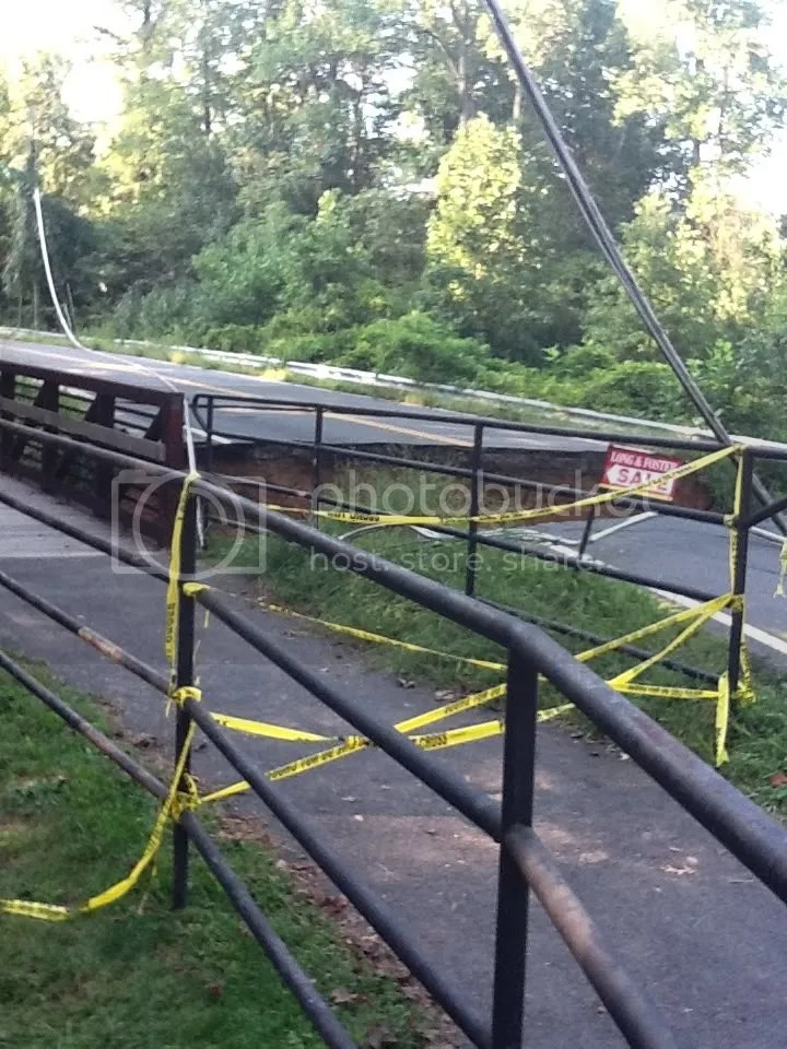 collapsed bridge