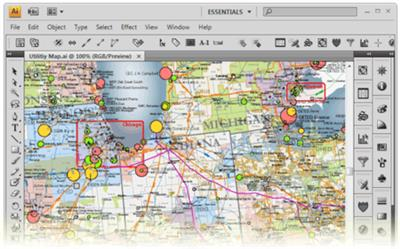 Avenza MAPublisher for Adobe Illustrator 9.9.0 CS6 - CC 2017 (Mac OSX)