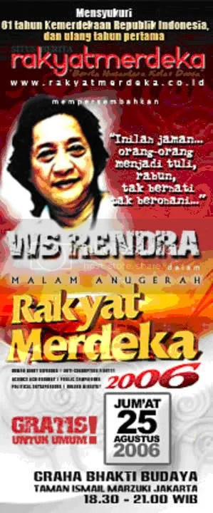 poster rendra