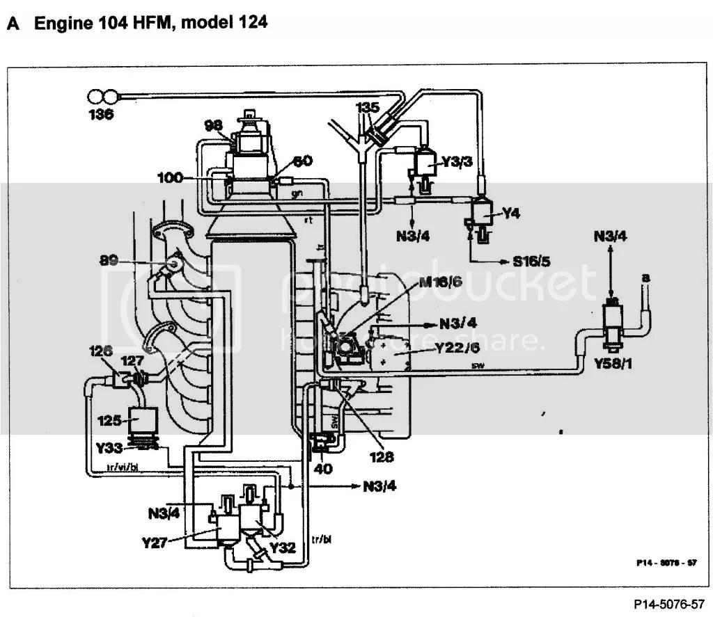Schematic Or Diagram For Vacum Lines The Fuel Pressure