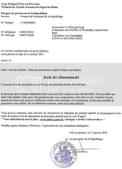 classement_sans_suite_plainte_Digne-les-Bains