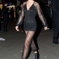 Taylor Swift naughty look in see through Lace Jumpsuit