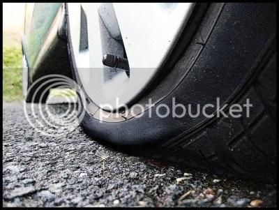 flat tire photo: flat tire flat-tire.jpg