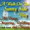a walk on the sunny side blog