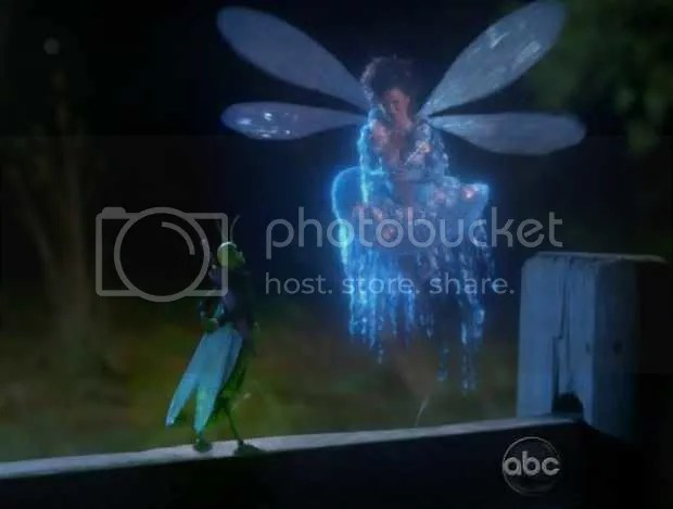 Once Upon a Time, Jiminy Cricket and Blue Fairy