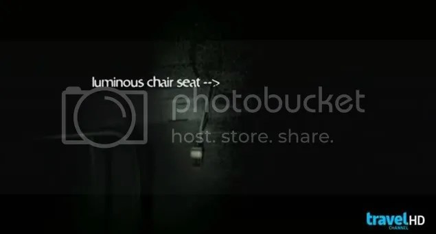 Ghost Adventures chair ghost