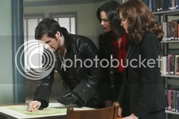 Regina, Cora, and Hook