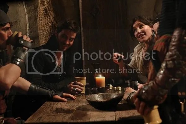 Once Upon a Time, Captain Hook and Milah