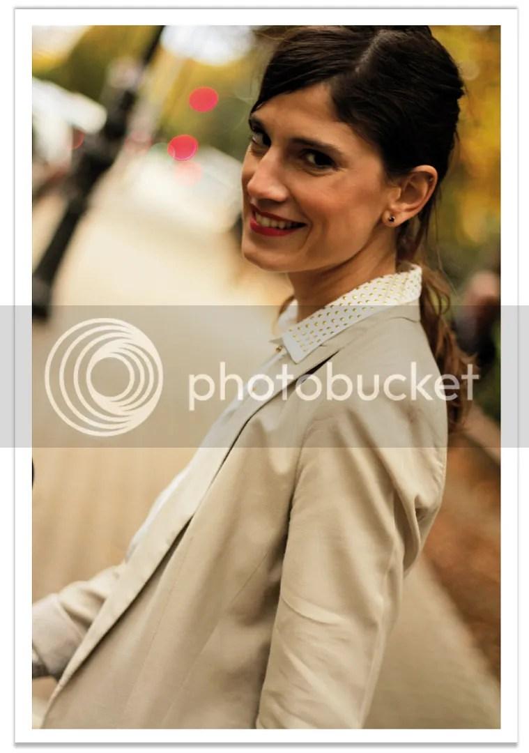 falda-verde-americana-beige-balamoda 7